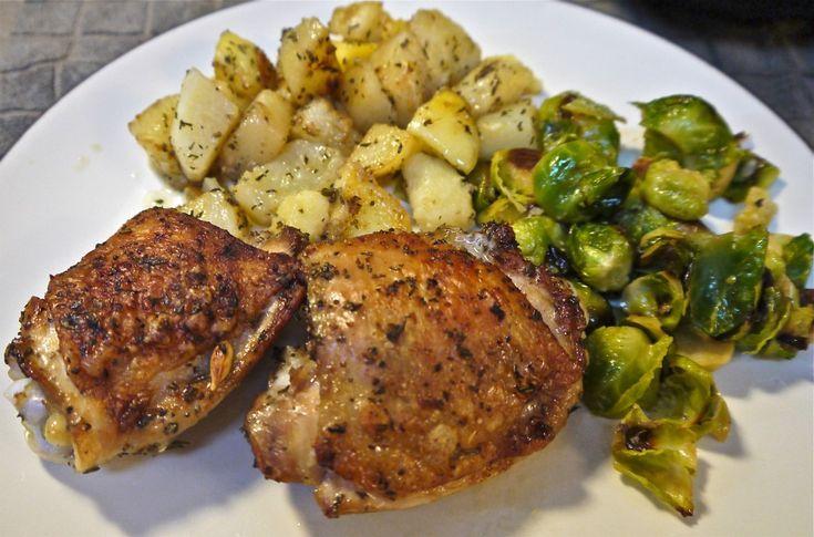 Roasted Herb Chicken & Potatoes Recipe — Dishmaps