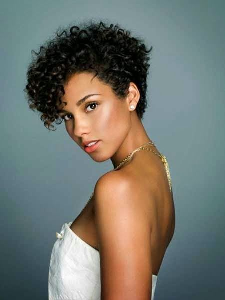 natural black hair short hairstyle, kort kapsel, trend 2014