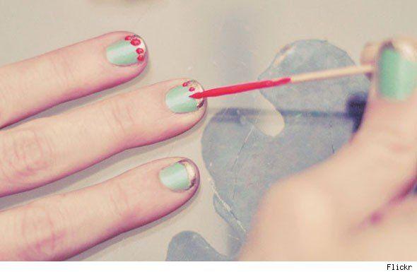 50 fun manicuresNails Art Ideas, Beautiful Nails, Nails Design, 50 Fun, Nails Ideas, Nails Polish, Fun Manicures, Galaxies Nails, Nails Tutorials