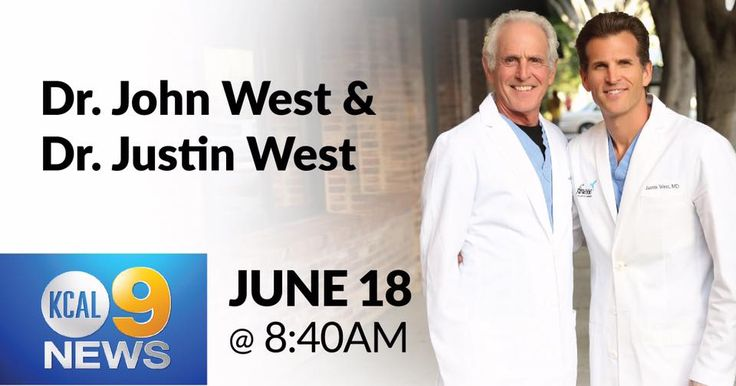 Tune in on Fathers Day for a live interview with Dr. John West and Dr. Justin West! Sunday, June 18th at 8:40am KCAL channel 9 News!