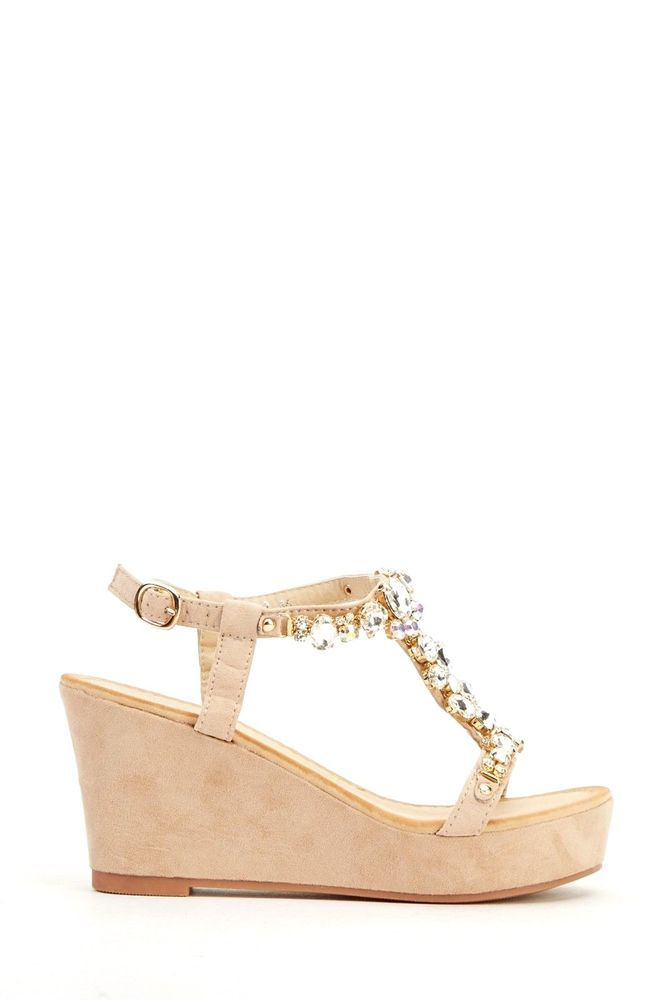 Fashion Footwear , Damen Sling Backs , Gold - gold - Größe: 36 (4 UK)