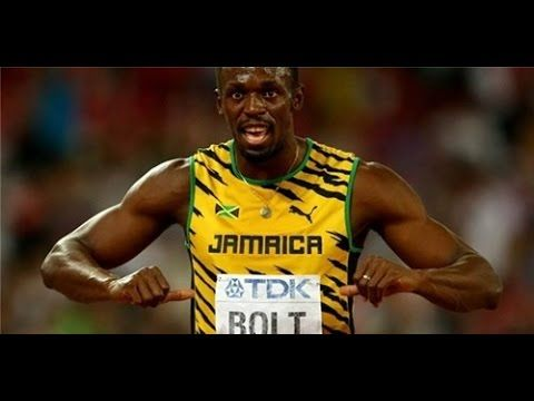 Usain Bolt Defends Title as Worlds Fastest Man in Rio Olympic  Usain Bolt Defends Title as Worlds Fastest Man in Rio Olympic   On a pleasant Sunday night in Rios Olympic Stadium Bolt the fastest human in history became the first to ever win the 100-m sprint in three straight Games finishing with a time of 9.81. Justin Gatlin of the United States the 2004 Olympic champion took an early lead but fell just short of completing his late-career comeback with another Olympic gold taking silver…