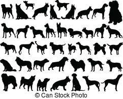 Vector Clip Art de grande, Colección, Perros, -, vector - Ilustración,... csp7218311 - Buscar Clipart, Ilustración, Dibujos y EPS de Vector de imágenes gáficas