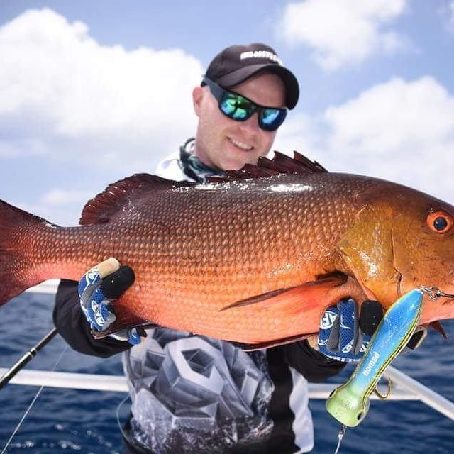 Fun #GT bycatch!  Red bass hit like a pile of bricks and look awesome, this one was caught on a Stella 18000 by @shanemurton_fishingsa