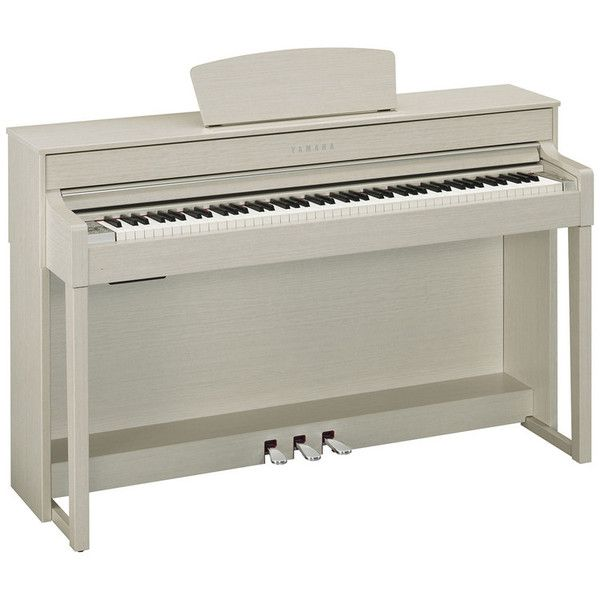 Yamaha Clavinova CLP535 Digital Piano, White Ash at Gear4Music.com