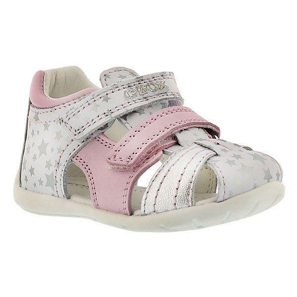 Geox Kaytan White Silver Pink
