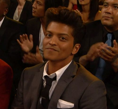 And also Bruno Mars. | 28 Celebrity Winks To Melt Your Actual Heart