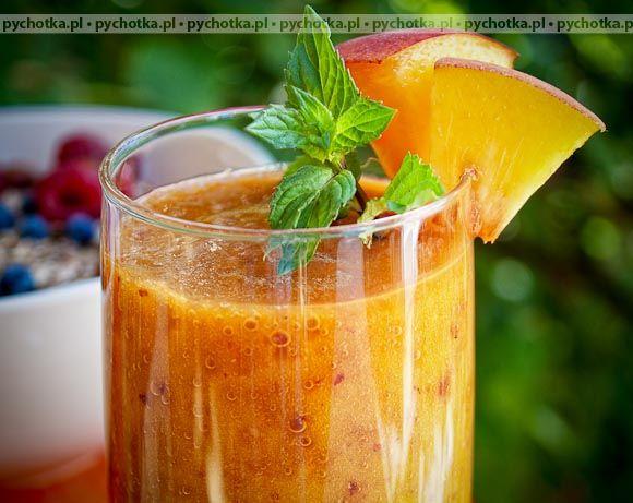 Koktajl z mango i soku pomarańczowego