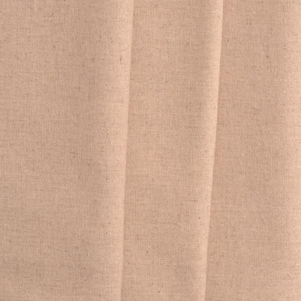 natural oatmeal color linen/cotton fabric