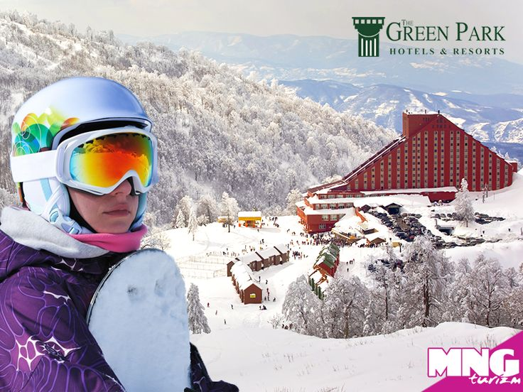 Karlı havaları en güzel şekilde değerlendirmek isteyenlerin seçimi The Green Park Kartepe Resort Spa. bit.ly/MNGTurizm-the-green-park-kartepe-resort-spa-s
