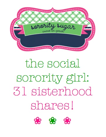 ice-breaker fun for all your sisterhood events! <3 BLOG LINK:  http://sororitysugar.tumblr.com/post/17771896044/sisterhood-share#notes  Perfect for VPPD :)