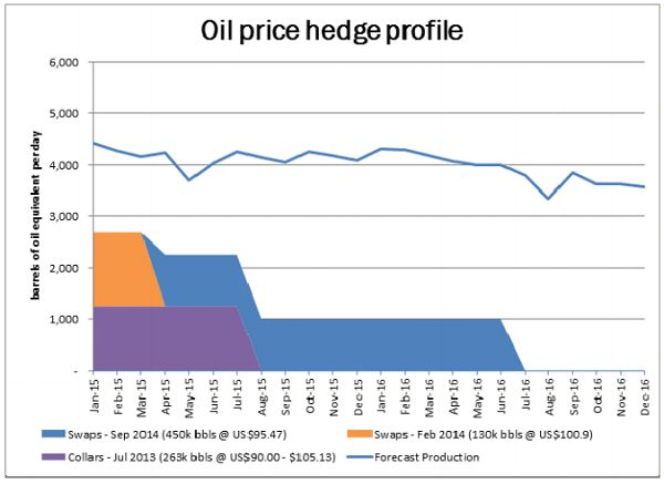 Oil Price Hedge