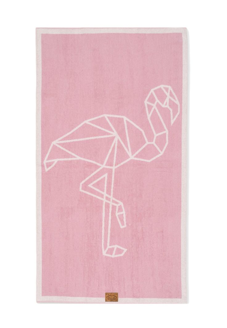 Flamingo Yoga Beach Towel by HAWKE & THORN made in Germany on CROWDYHOUSE #beach #summer #accessories