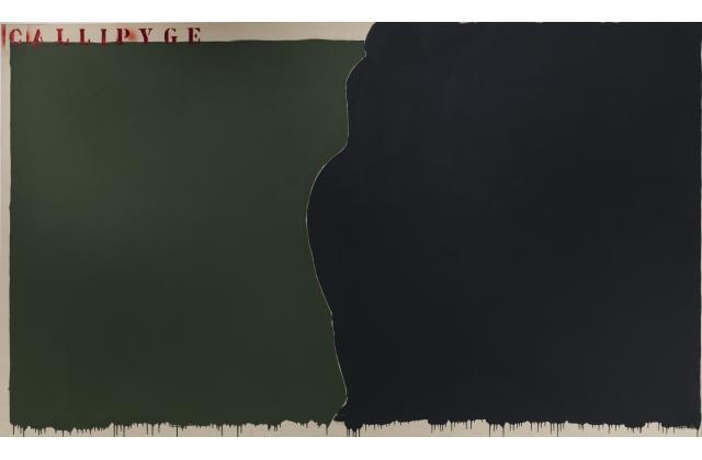 Richard Mill | RM 1437 (Callipyge) | Acrylique sur toile (acrylic on canvas) |2011
