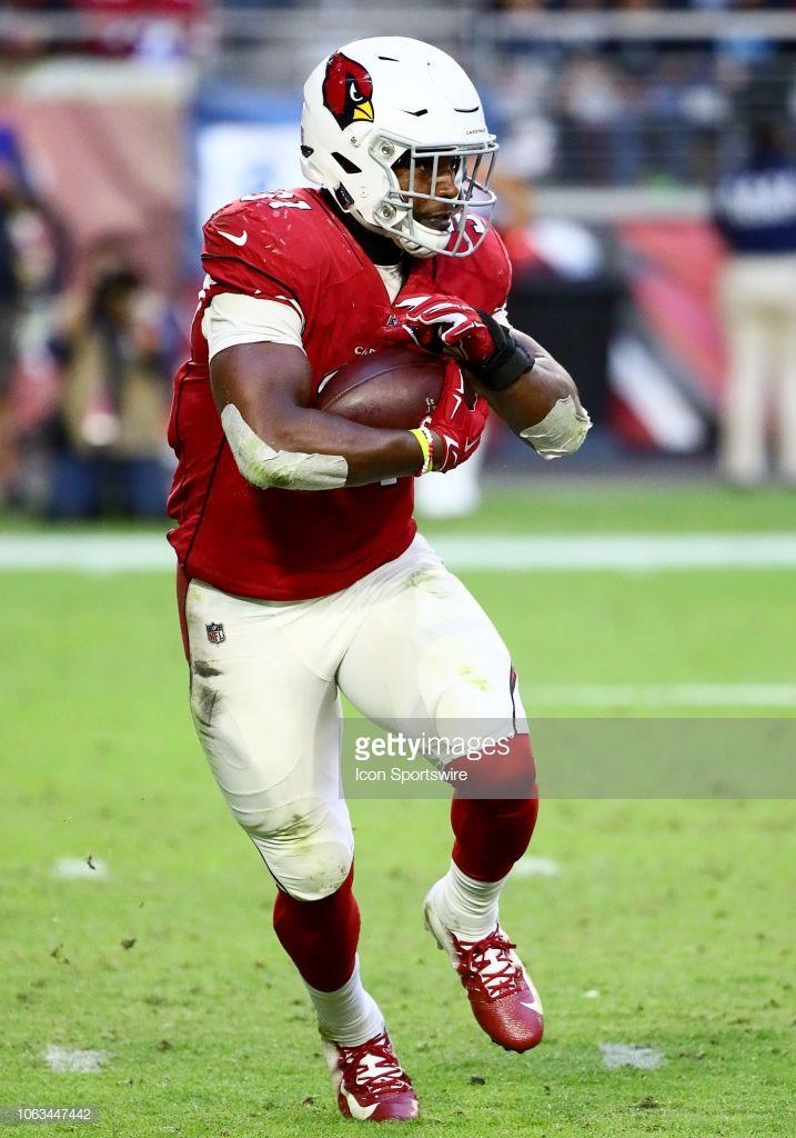 Arizona Cardinals Running Back David Johnson Runs The Ball During The Arizona Cardinals Running Back Cardinals