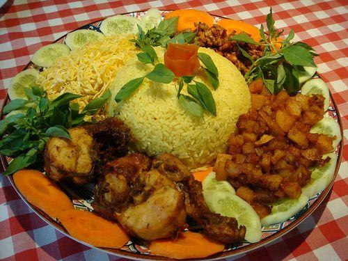 yellow rice...