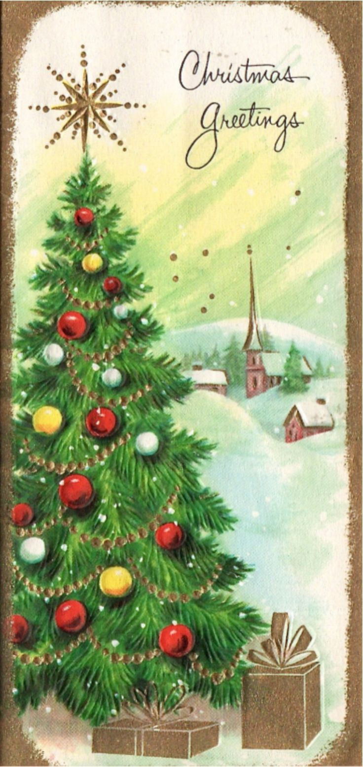 994 Best Vintage Christmas Cards 2 Images On Pinterest Christmas