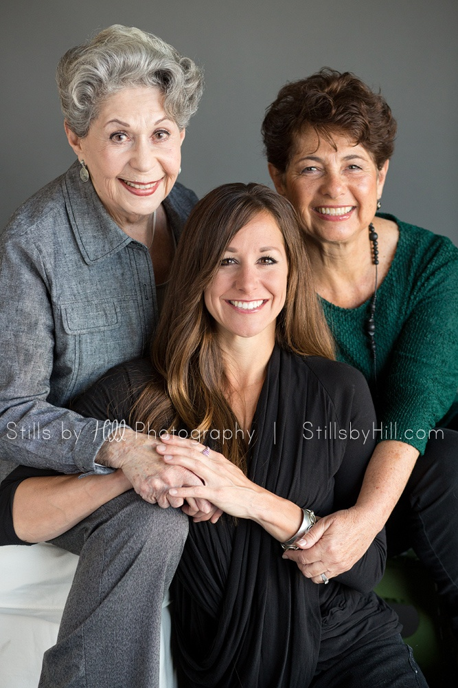 Celebrating Grandmothers, Mothers & Daughters. Generational beauty session portraits http://www.stillsbyhill.com/beautifulyou/