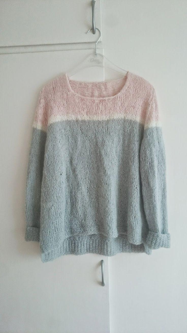 Annjas Kreative Verden : Skappel genser / Skappel sweater