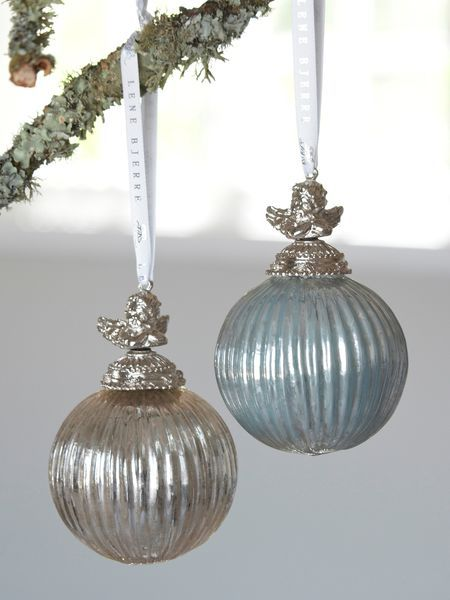 These would look great on my Tree.  I love mercury glass.