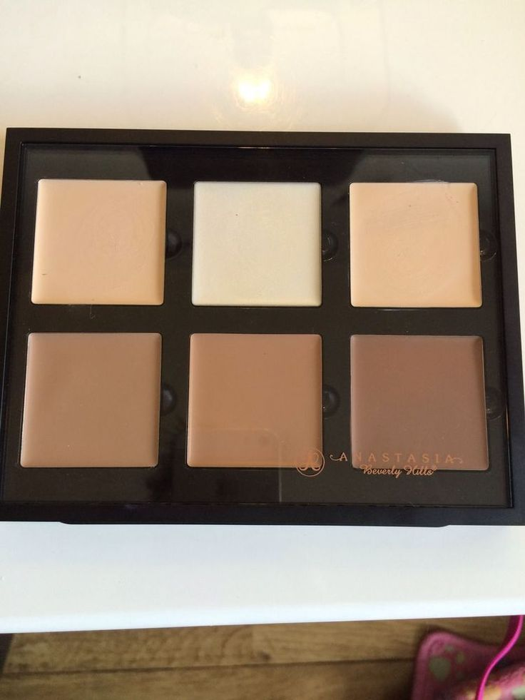 anastasia cream contour kit packaging. anastasia beverly hills pro series cream contour kit in fair - bnib uk seller packaging
