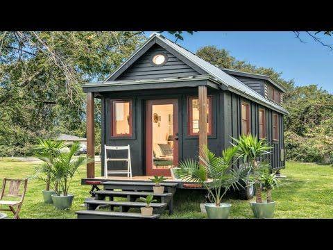 Turnkey Tiny Home Scandinavia Inspired Three-Axle Trailer | Small House Design Ideas - YouTube