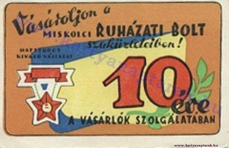 1960 - 1960_0101 - Régi magyar kártyanaptárak