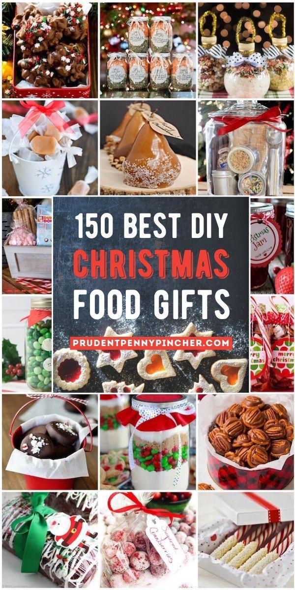 Best Christmas Food Gifts 2020 150 Best Food DIY Christmas Gifts in 2020 | Christmas food gifts