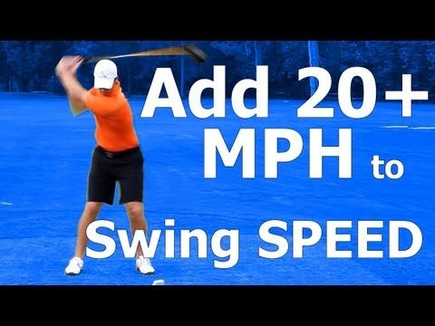 How to Increase Club Head Speed in Golf: Swing Myth BUSTED!!!