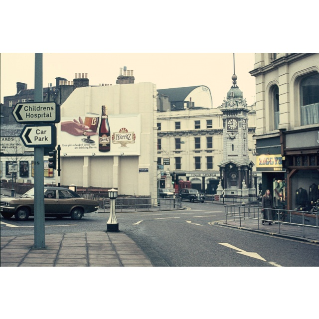 Clock Tower, Brighton 1970's. The year I studied abroad in Brighton College of Education.