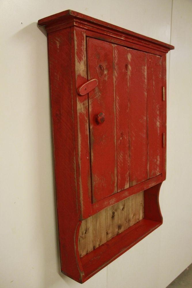 Primitive Medicine Cabinet,Primitive kitchen cabinet, Primitive Jelly cupboard,  #NaivePrimitive