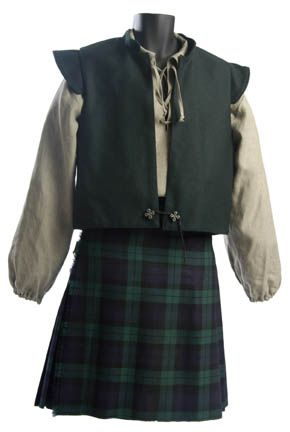 medieval scottish clothing - Google Search