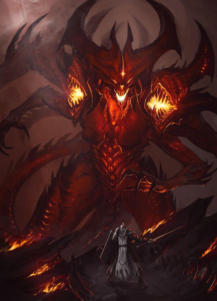 Diablo Sketch by Earl-Graey | Monsters | Diablo, Demon art ...