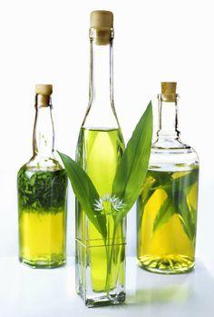 Olivový olej ochucený medvědím česnekem, Foto: isifa.com