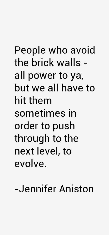 Jennifer Aniston Quotes