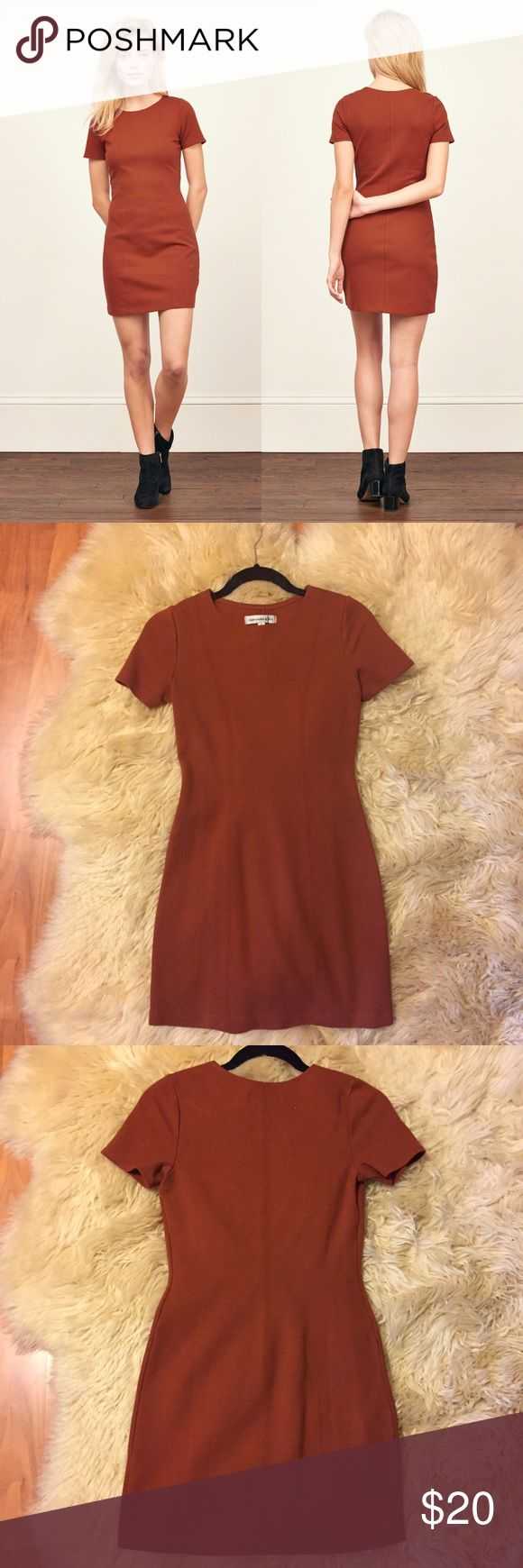 Best 25 orange bodycon dress ideas that you will like on for Thick material t shirts