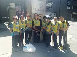 Keeping Vancouver Spectacular! Delta Vancouver Suites cleans up our neighborhood every Friday