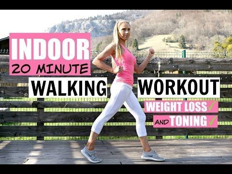 WALK AT HOME WORKOUT -20 minute fun routine to help you lose weight and tone up-low impact exercises - YouTube