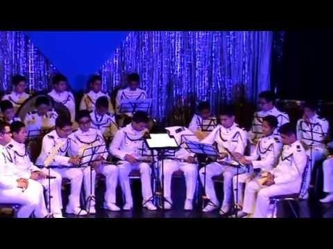 Primera parte del Concierto 2016 de la Banda Marcial Colegio San Sebastian