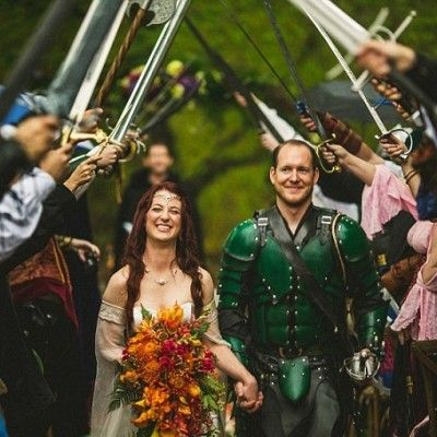 Unusual wedding themes that will surprise your guests  #Game_of_Thrones #Harry_Potter #Lord_of_the_rings #love #nintendo #Star_Wars #steampunk #unusualwedding #wedding #weddingtheme #zombies
