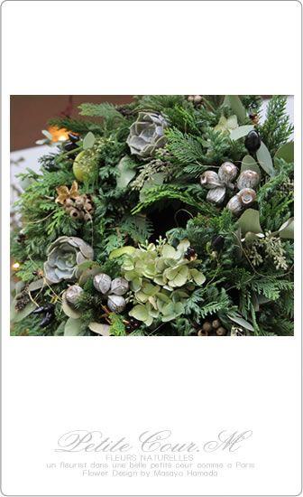 20121020 クリスマスフレッシュリース