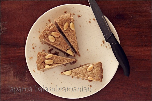 My eggless version of the Dutch Gevulde Speculaas.