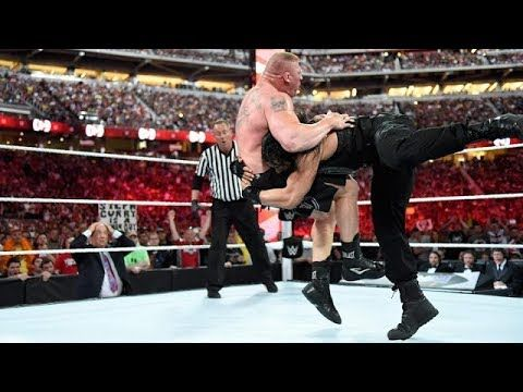 Roman Regins vs Brock Lesnar (c) & Championship Match - WWE Wrestlemania 31 Roman Regins vs Brock Lesnar - WWE Wrestlemania 31 Brock Lesnar defends the WWE World Heavyweight Championship against Roman Reigns on The Grandest Stage of Them All, only on WWE Network.