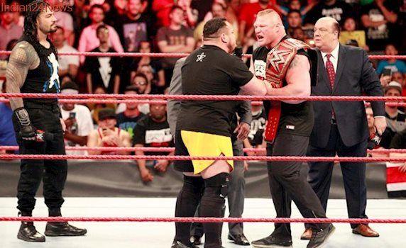 WWE Raw Results: Roman Reigns, Samoa Joe confront Brock Lesnar; Dean Ambrose destroys Miztourage