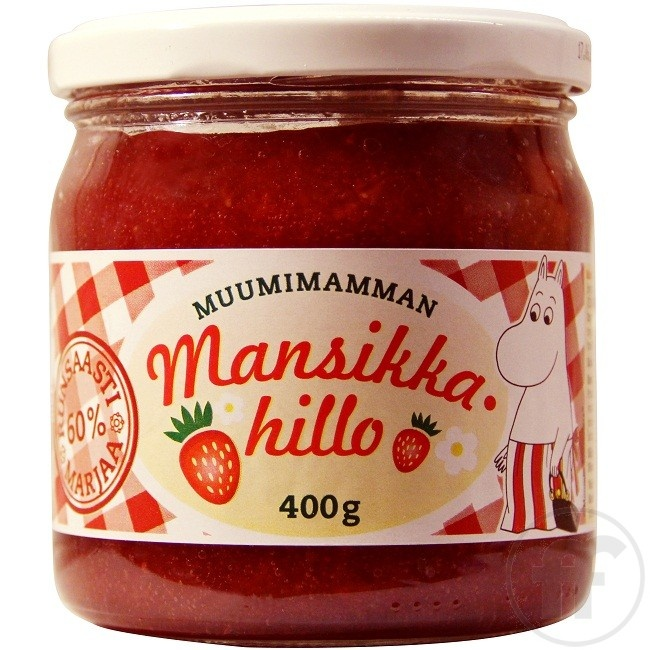 Moominmamma Strawberry Jam (400g)