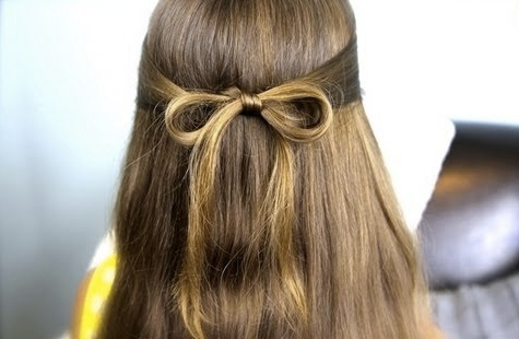 Sweet & subtle hair bow