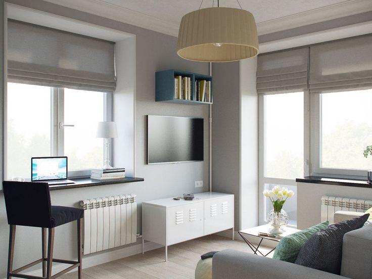 .Hogyan hozd ki a legtöbbet 28m2-ből - mini lakás külön konyhával, hálófülkével, szép fürdőszobával