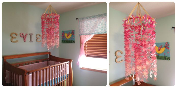 This is the mine! I sent her pics and she added to the blog post!!! DIY Better-Than-Paint-Chip Mobile – merelymothers