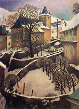 DORA CARRINGTON :: LARRAU SNOWSCAPE