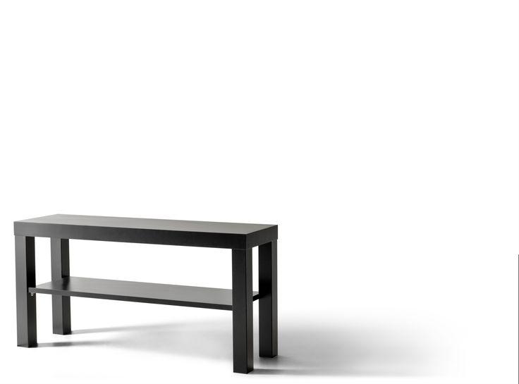 vittsjà tv meubel zwartbruin glas tvs